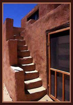 Pueblo Steps, SW USA