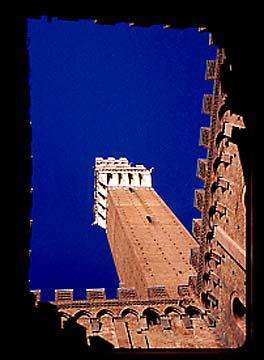 Siena Tower, Tuscany, Italy
