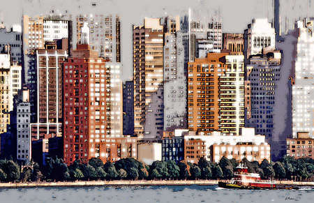 Unfinished Skyline of NYC
